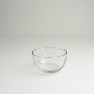 Dulari Glass Nibbles Bowl - Clear Glass