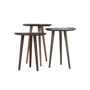 Dhaatu Round Tables (Set of 3)