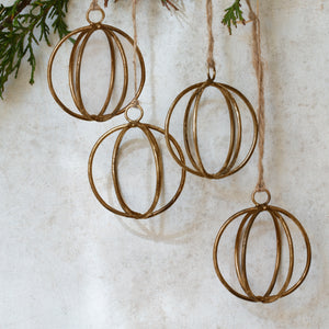 Eshe Wire Baubles (Set of 4)