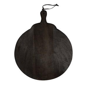 Jolie Round Chopping Board - Noir