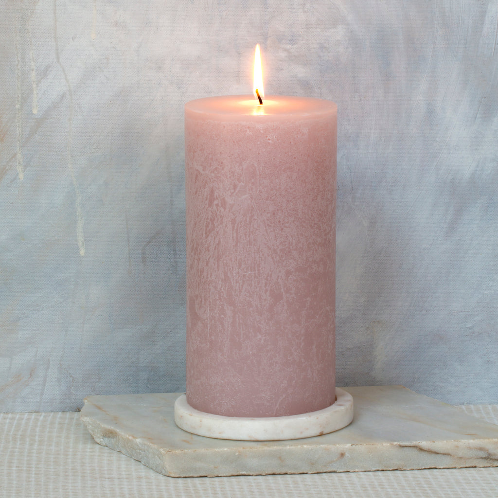 Pink Coral Candle