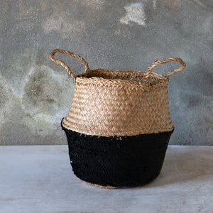 Black Toulouse Sequin Basket