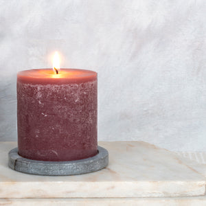 Berries Candle - 100mm x 100mm