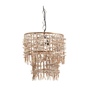 Jambari Wooden Chandelier