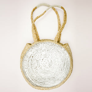 Lissa Metallic Shopper