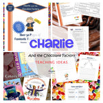 Charlie and the Chocolate Factory Unit: Roald Dahl Novel Study, Tasks & MORE