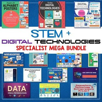 2019 STEM & DIGITAL TECHNOLOGIES & ICT SPECIALIST BUNDLE