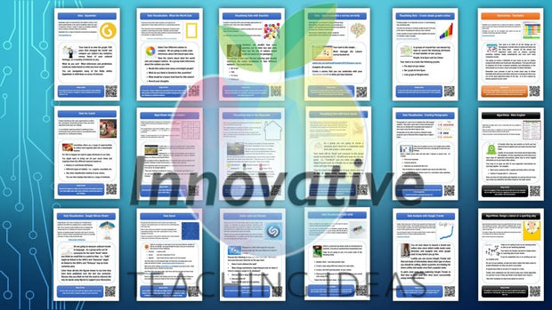 Computational Thinking And Data Activity Cards (Stem & Digital Technologies) Teaching Resource