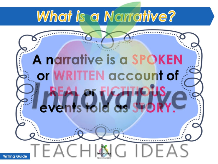 Narrative & Creative Story Writing Unit ( Self Directed Digital Print Modules) Teaching Resource