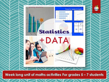 Elementary / Primary Statistics and Data Project