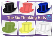 De Bono's Six Thinking Hats Poster Bundle