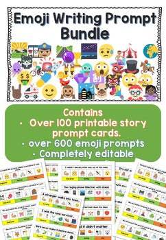Emoji Writing Prompts (Creative Ideas Generator)