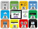 Free interactive iPad skills poster for teachers and students
