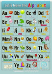 Let's Learn the Alphabet Poster