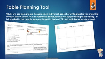 Fable Planning Tool Freebie