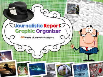 Journalistic Writing Prompts Bundle