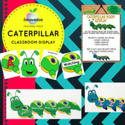 Editable Caterpillar Classroom Display ( Word Wall / Sight Words / Numbers )