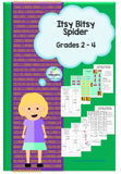Itsy Bitsy Spider Algorithm Challenge (STEM and Coding for Juniors)