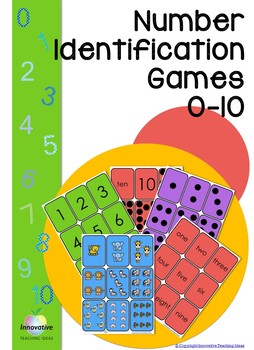 Editable Number flash cards (0- 10) Math games & Tasks for Juniors