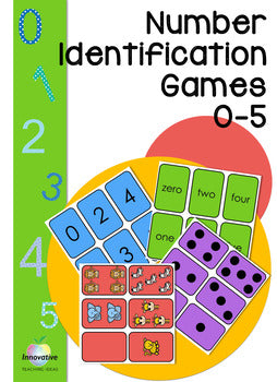 Editable Number flash cards (0-5) Math games & Tasks for Juniors