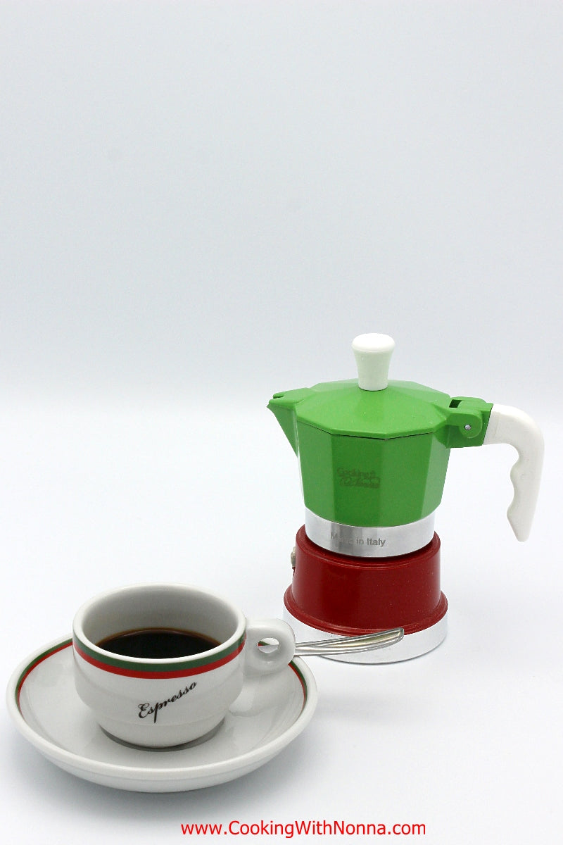 La Dolce Vita Espresso Coffee Pot - Makes 1 Cup