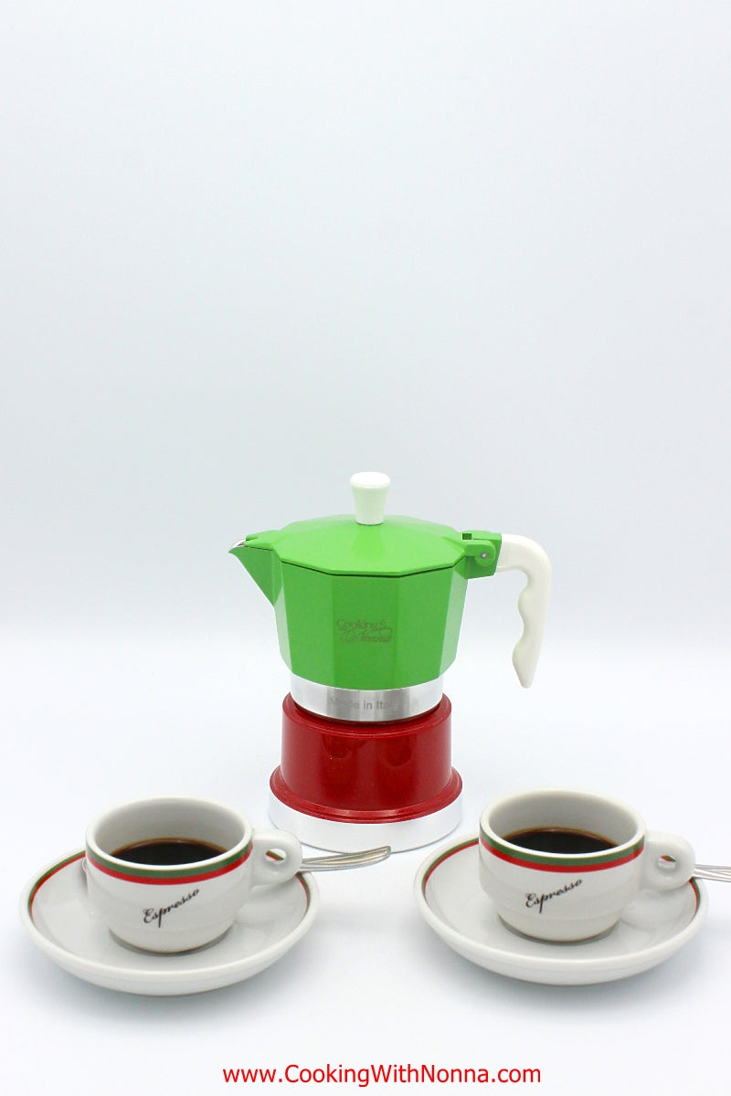 La Dolce Vita Espresso Coffee Pot -  Makes 3 Cups