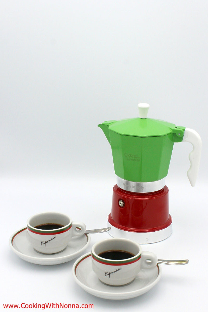 La Dolce Vita Espresso Coffee Pot - Makes 6 Cups