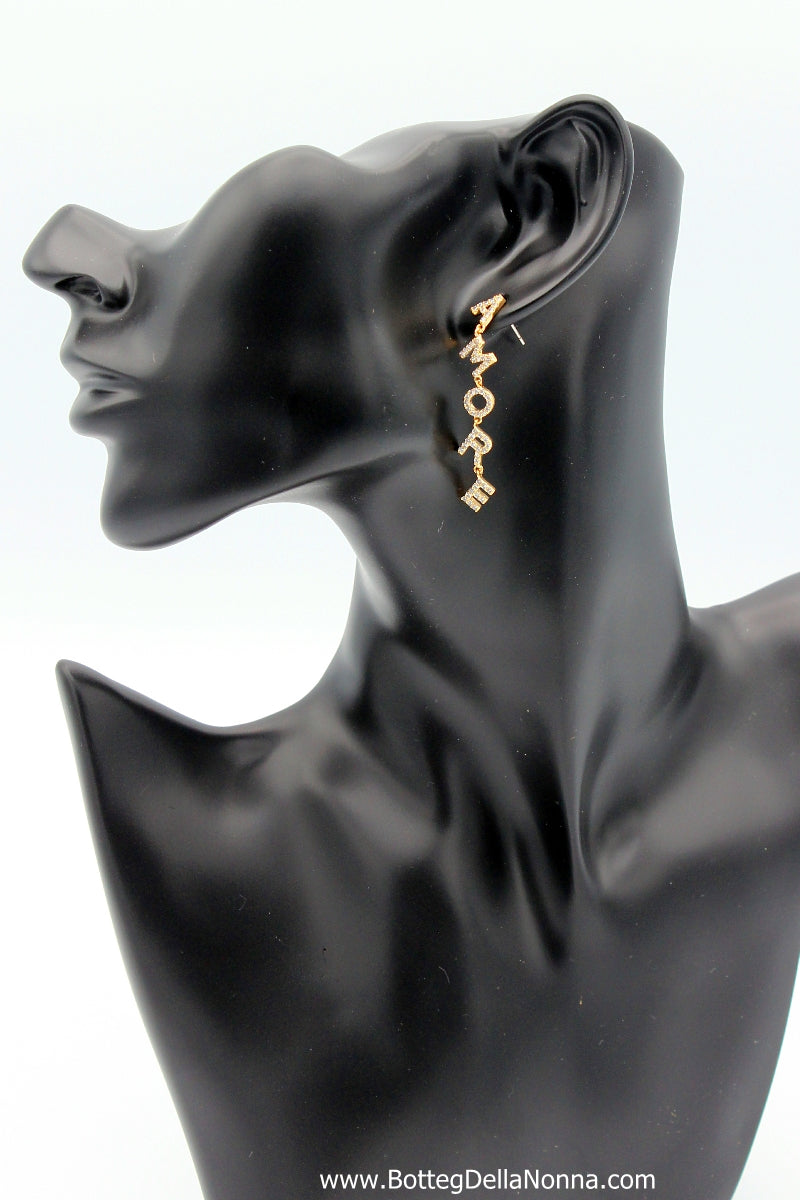 Amore Earrings - Yellow Gold