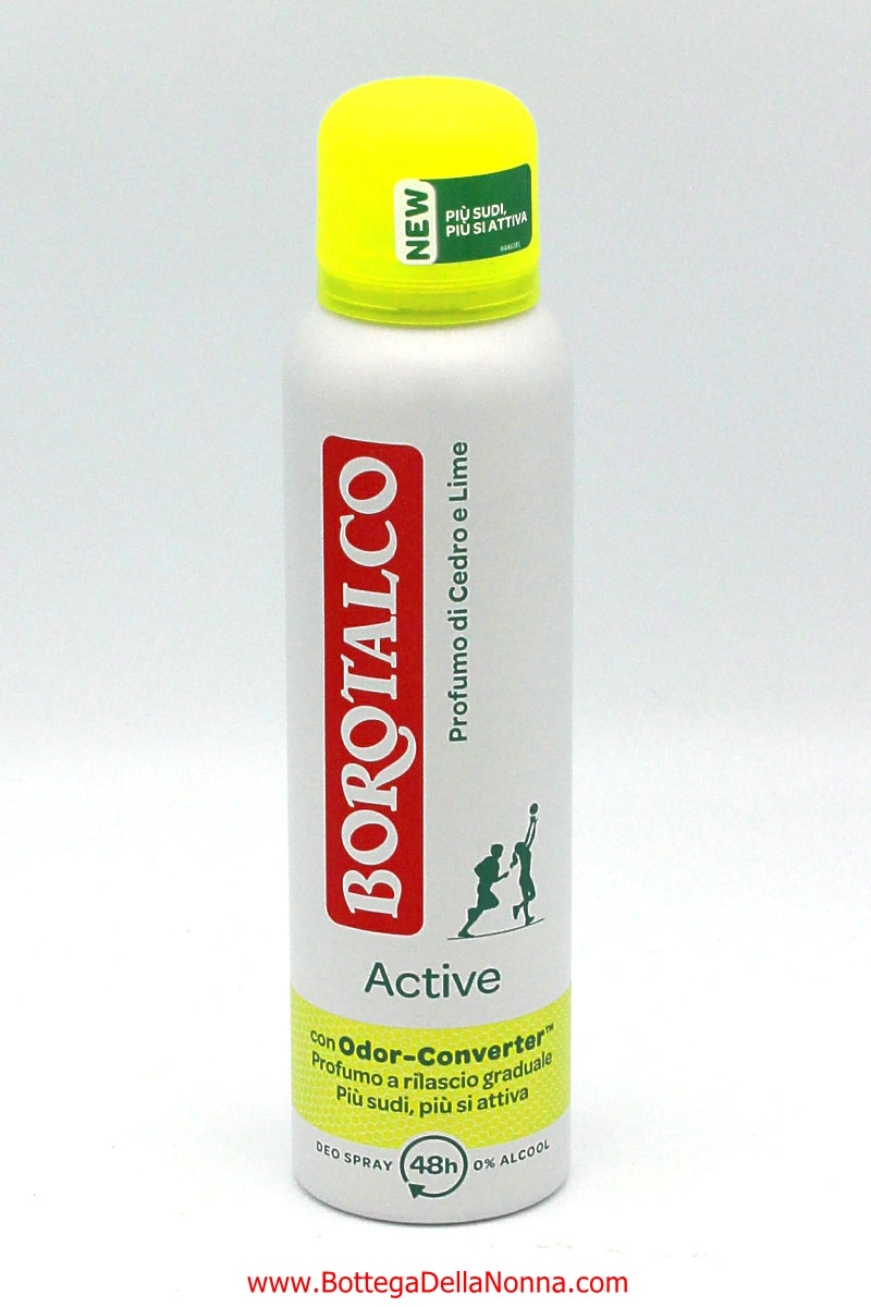 Borotalco Deodorant Spray - Active