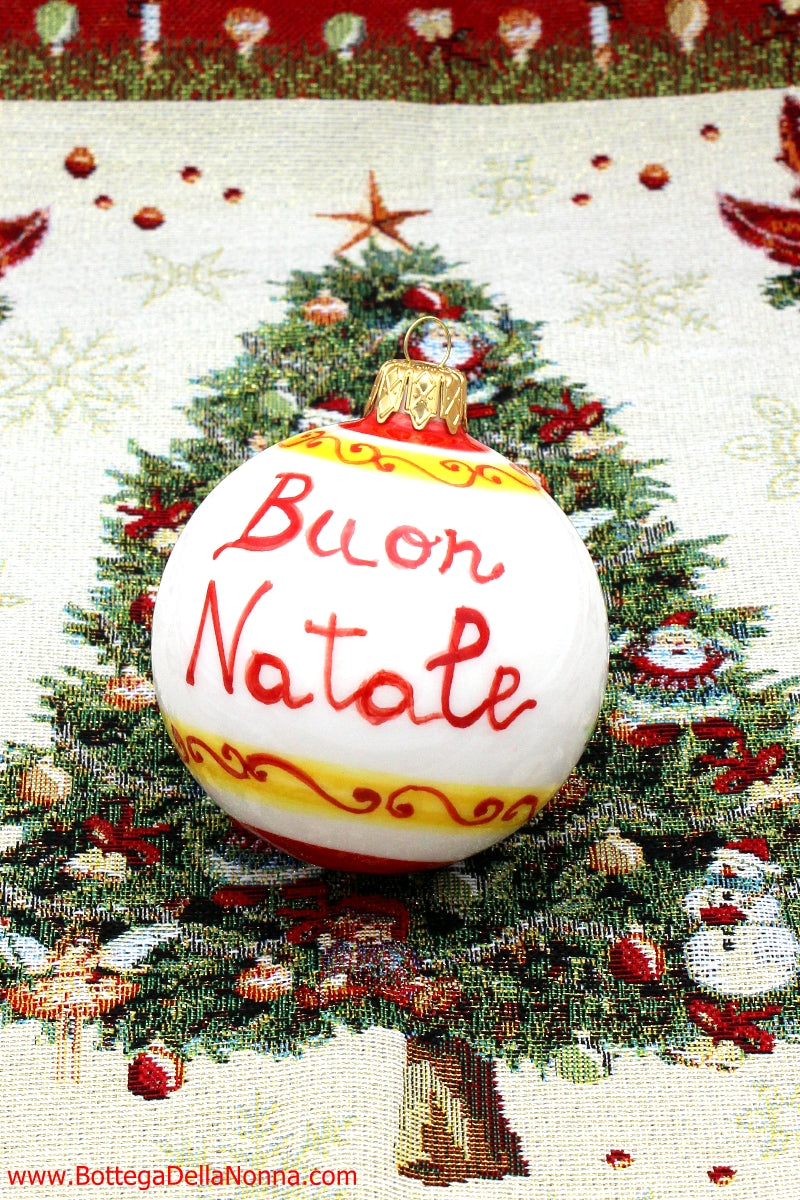 "The ""Buon Natale"" Christmas Ornament"