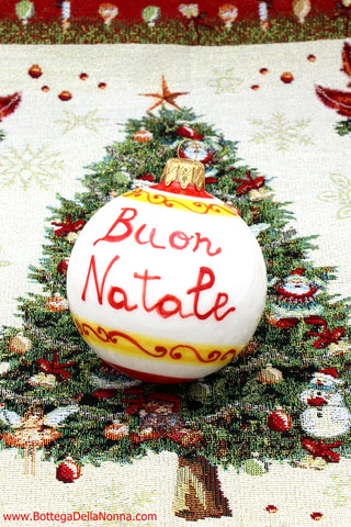 The Italian-American Christmas Ornament