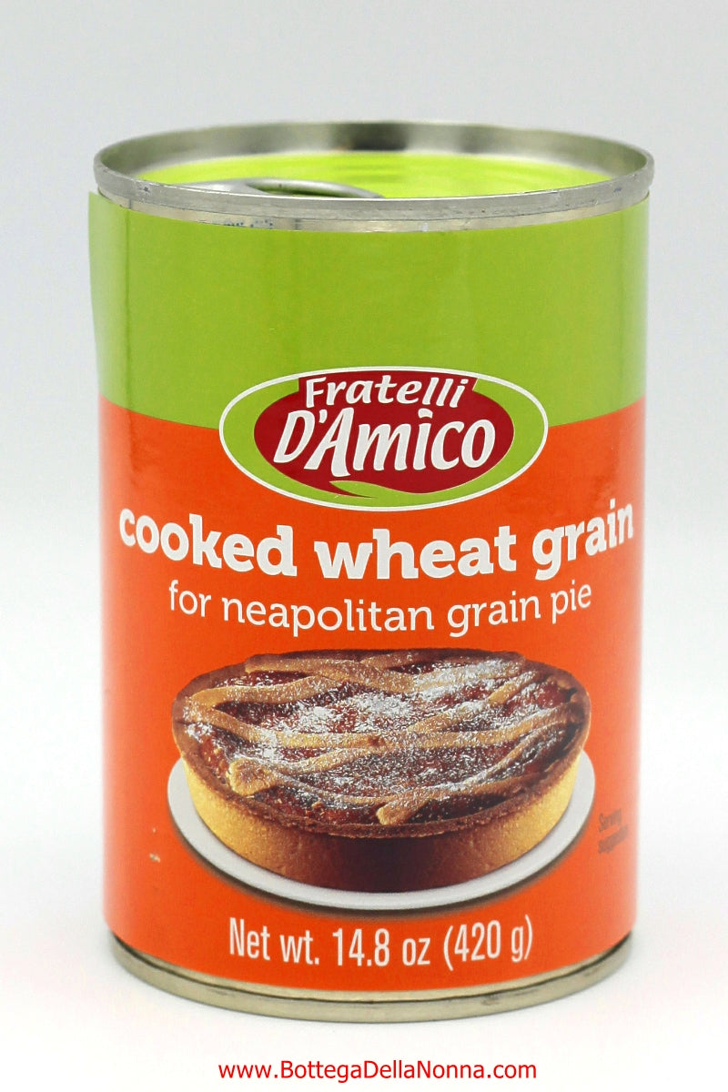 Grano Cotto - Cooked Wheat for Pastiera Napoletana