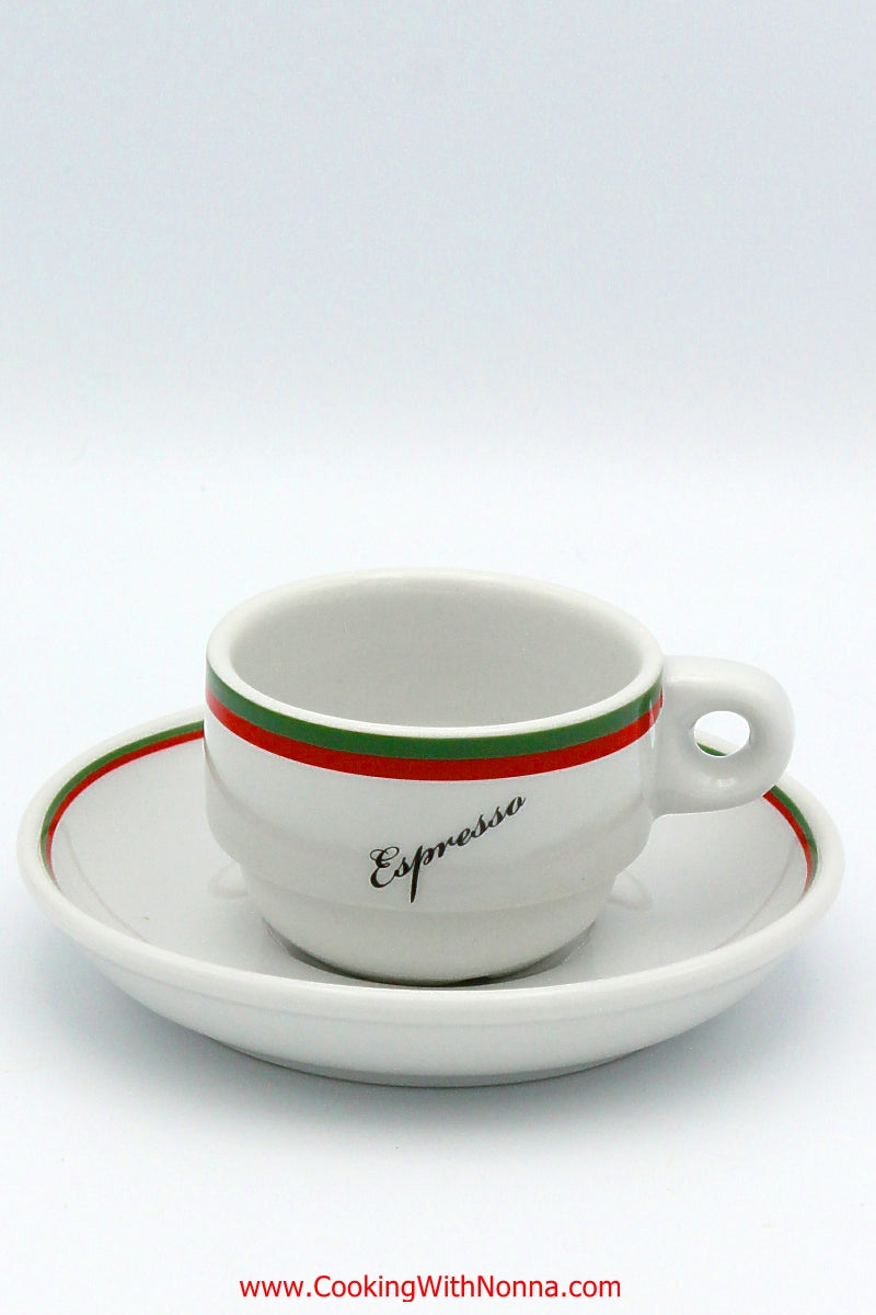 La Dolce Vita Espresso Cups - Set of 6 - Free Shipping