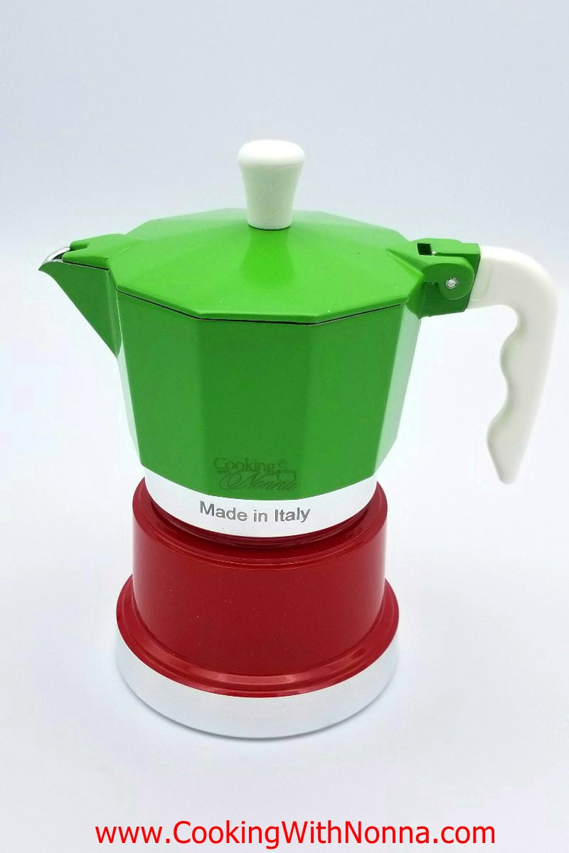 La Dolce Vita Espresso Coffee Pot -  Makes 2 Cups