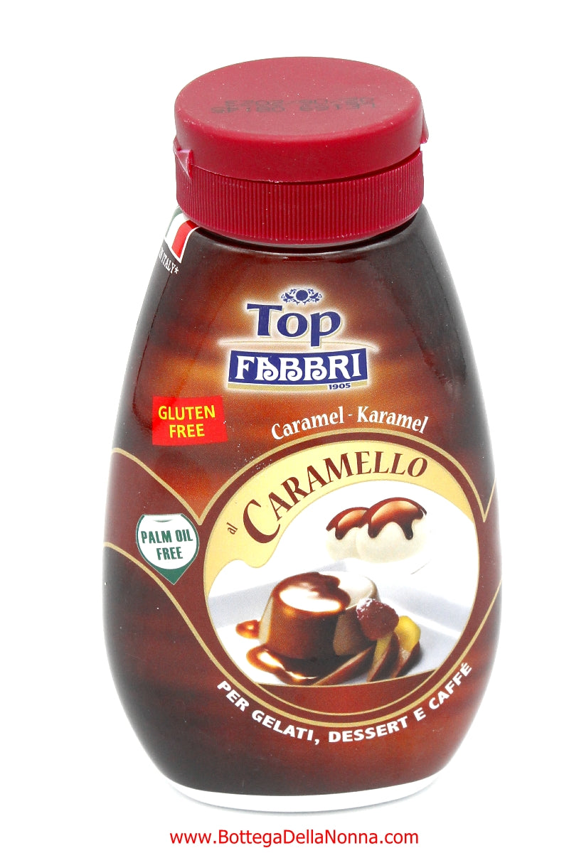 Fabbri Caramel Syrup for Topping