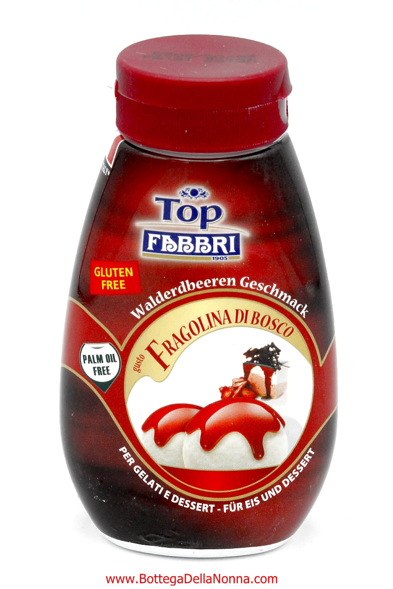 Fabbri Fragolina Syrup for Topping