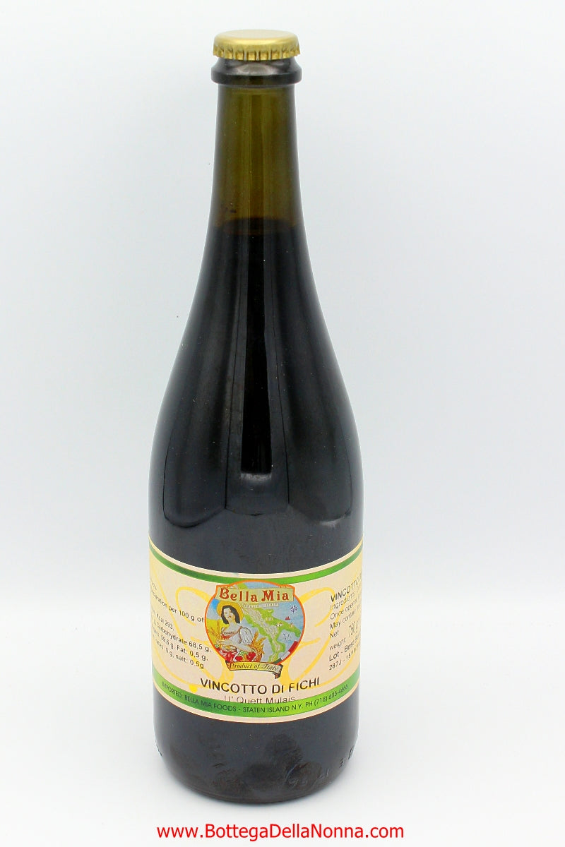 Fig Vin Cotto from Puglia - Bella Mia - Free Shipping