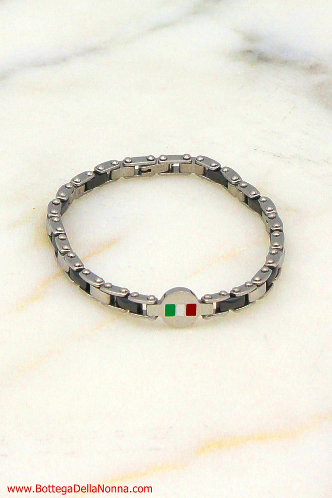 The Forza Italia Bracelet for Men - Stainless Steel