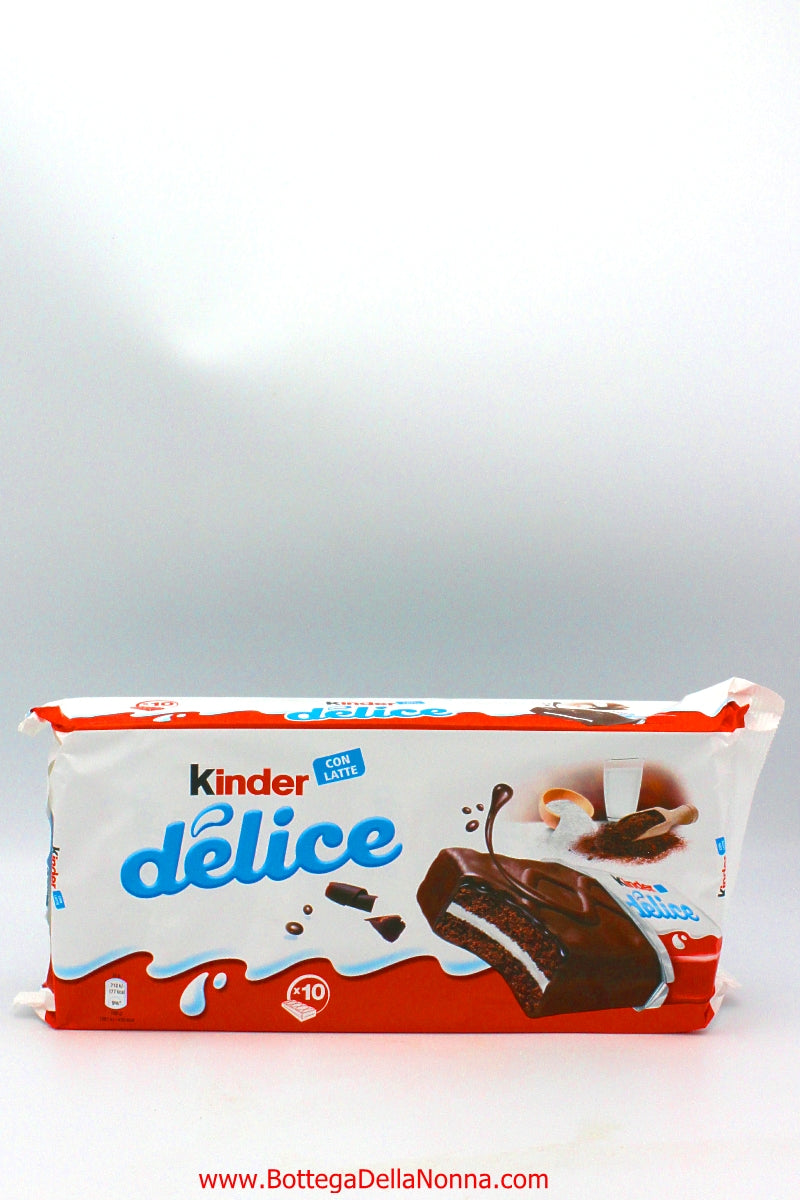 Kinder Delice con Latte - 10 Individual Packs
