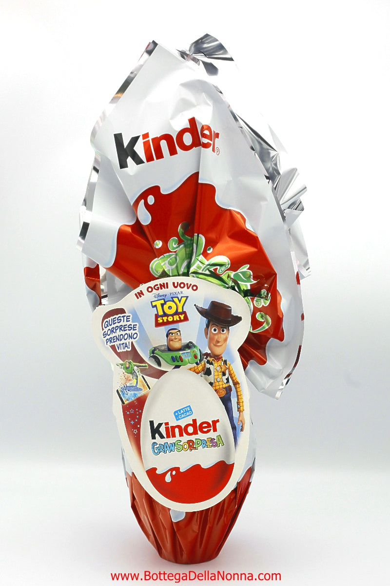 Kinder Easter Chocolate Egg  - Gran Sorpresa - Toy Story