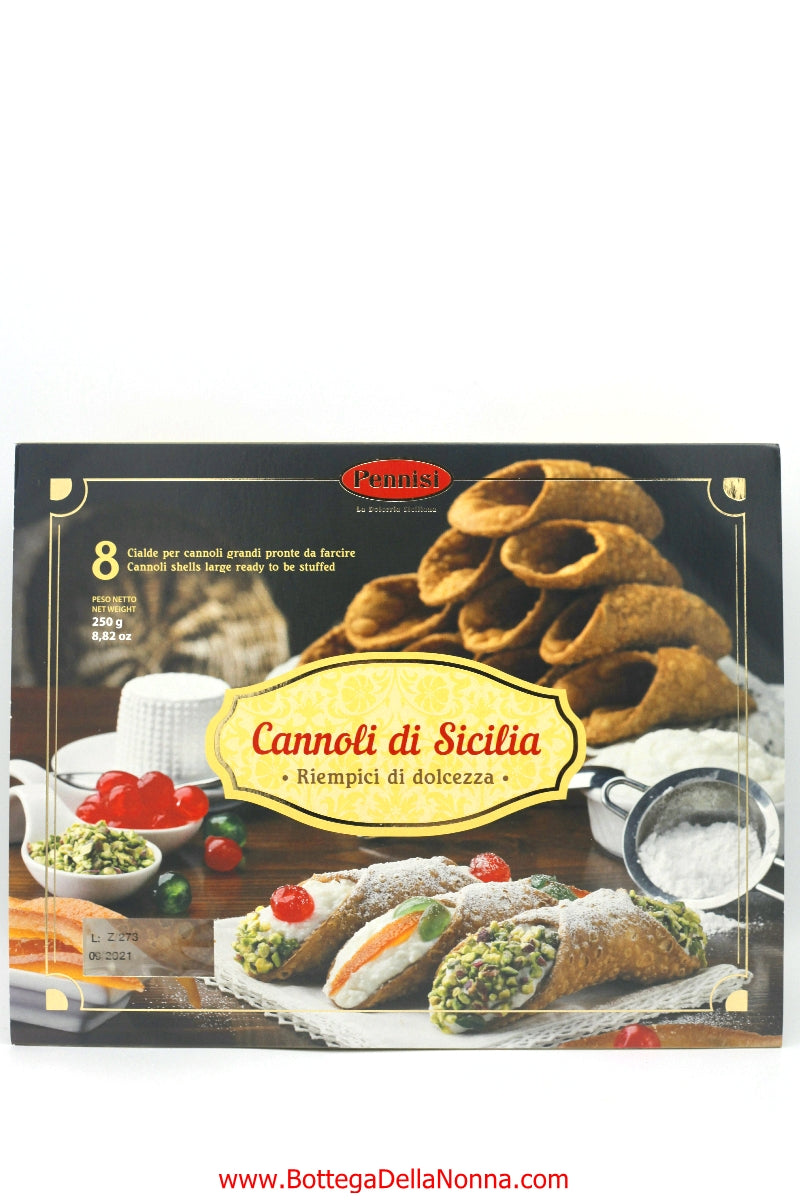 Cannoli Shells from Sicily - Large
