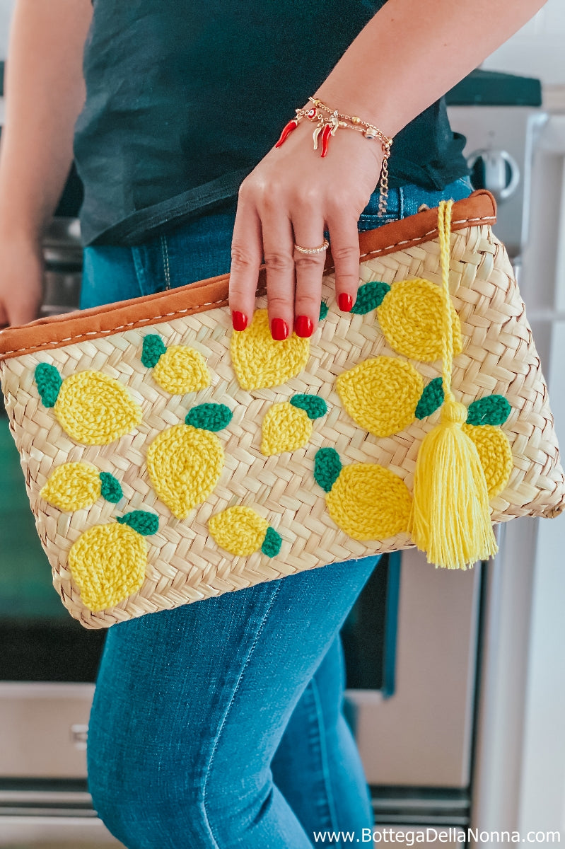 The Limoncello Straw Bag