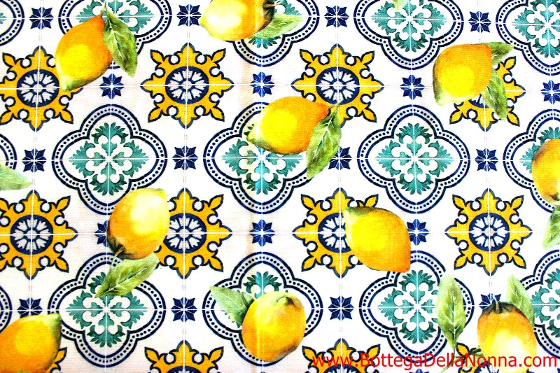 The Majolica Fantasy Tablecloth