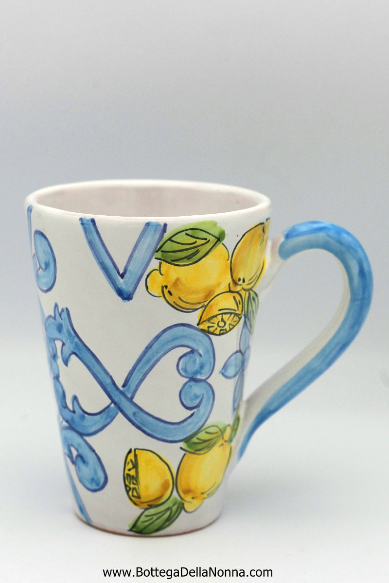 The Majolica Lemon Mug