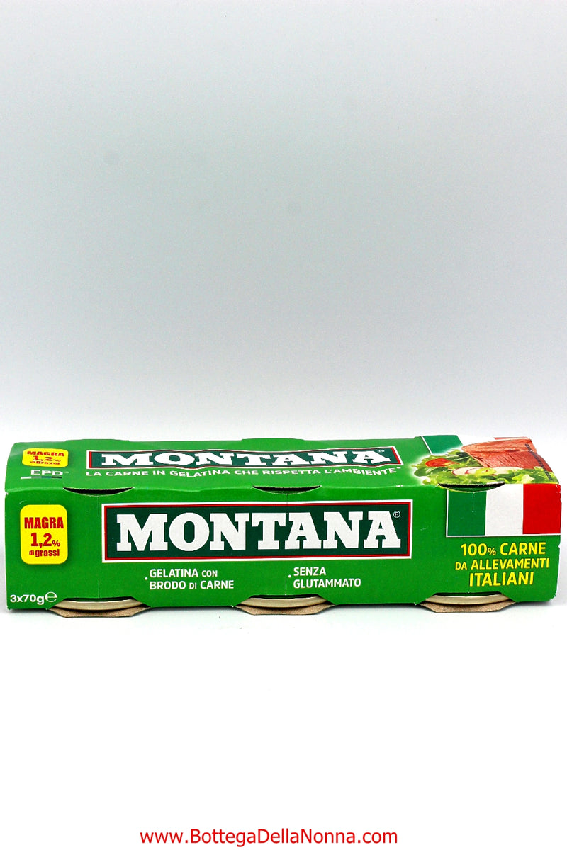 Montana Canned Meat  - 3 x 70Gr