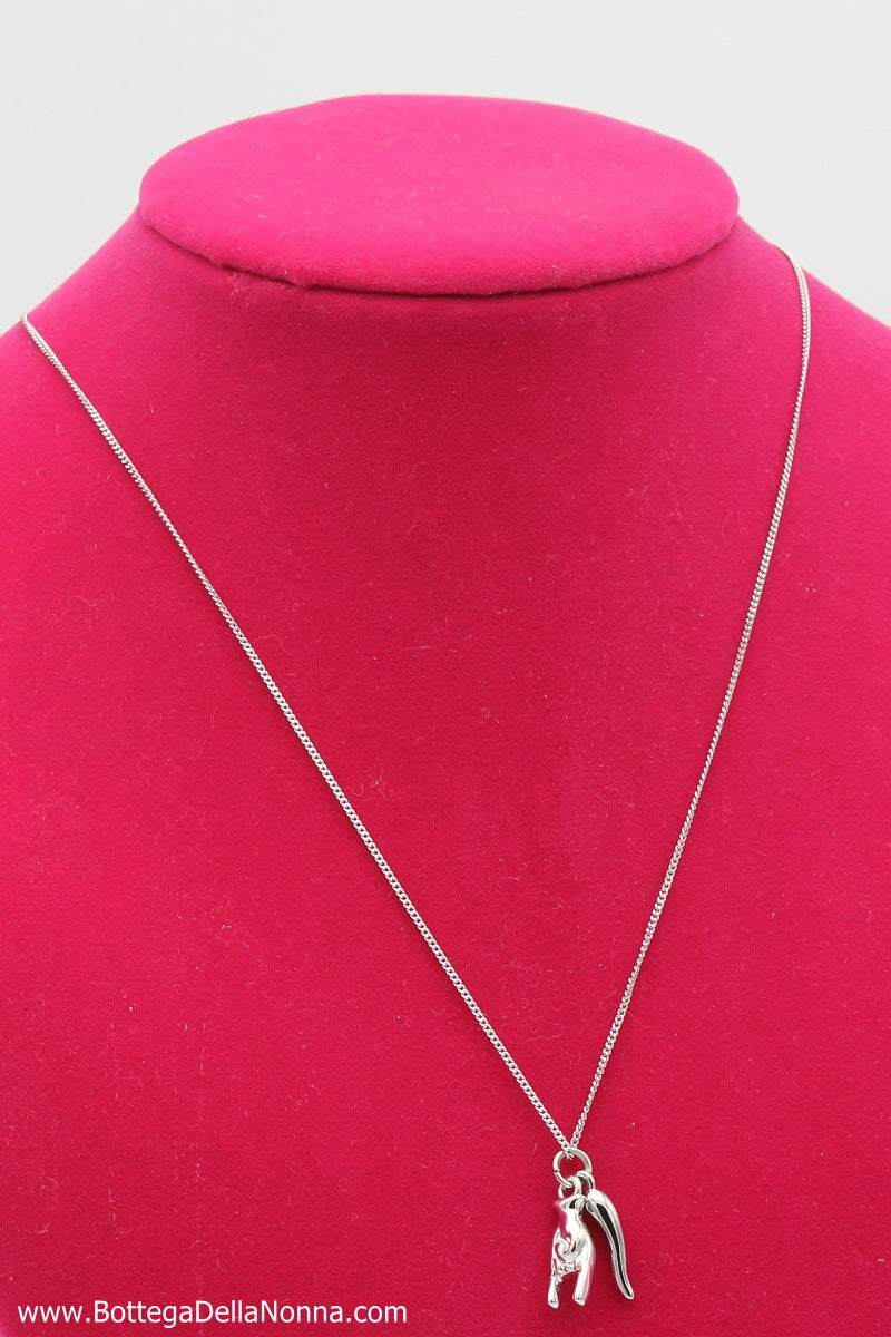 The Italian Envy Necklace - White Gold