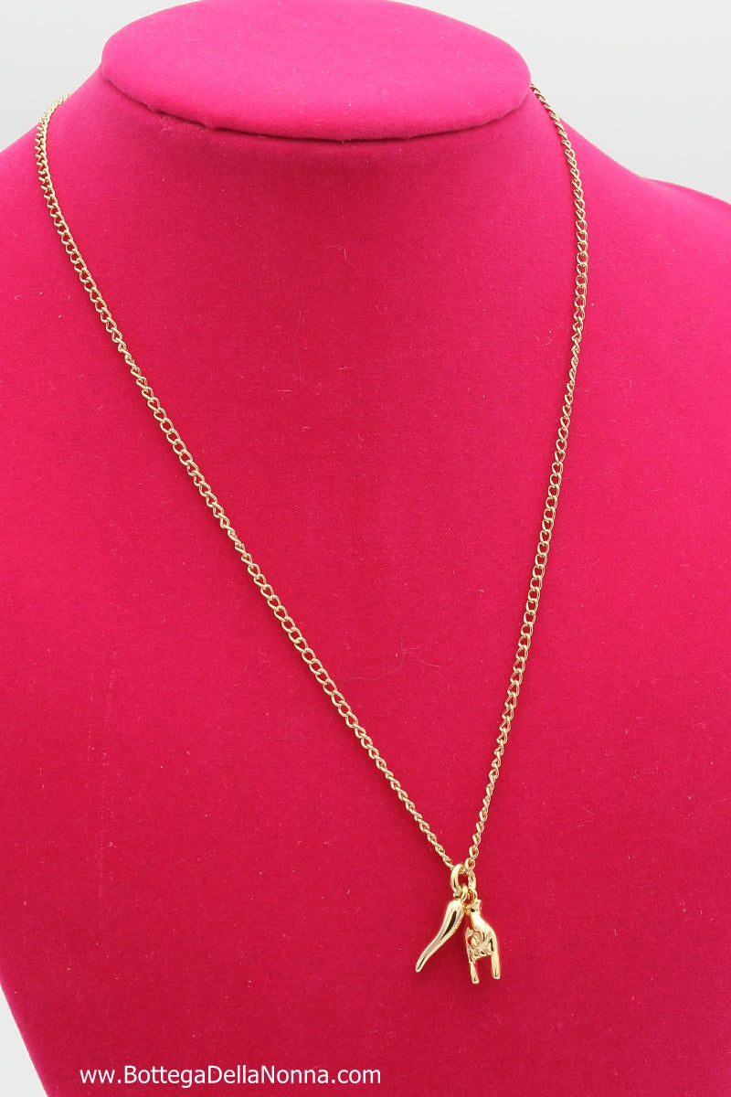 The Italian Envy Necklace - Yellow Gold