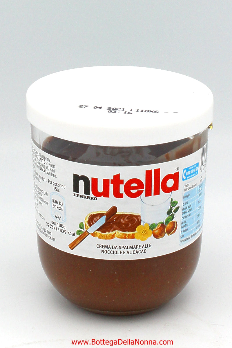 Nutella 200 grams - Reusable Glass