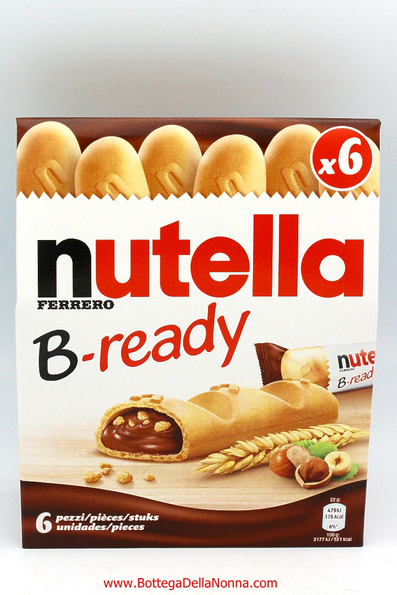 Nutella B-Ready x6