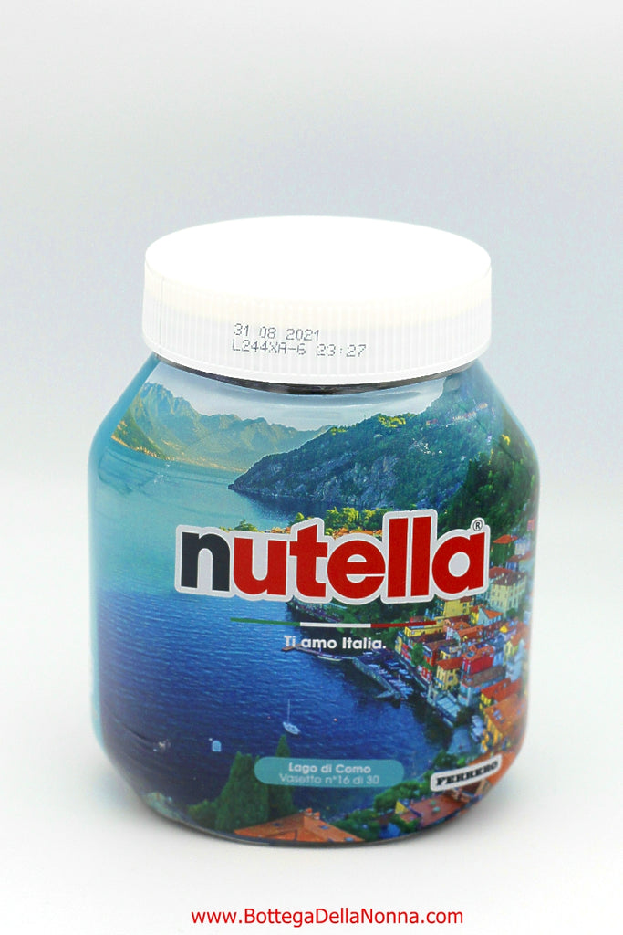Nutella - Ti Amo Italia - I Love You Italy - Glass Jar